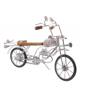 METALL MOTORBIKE OLD STYLE L