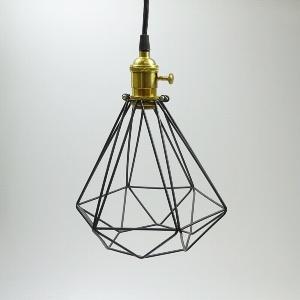 METALL LAMPE MODERN MIT KABEL