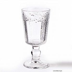GLAS WEINGLAS H 16,5CM KLAR