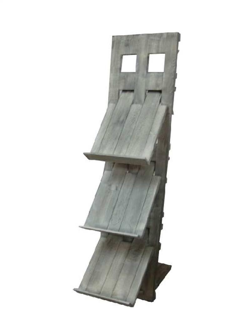 holz zeitungsst nder m024 h142cm old pine. Black Bedroom Furniture Sets. Home Design Ideas