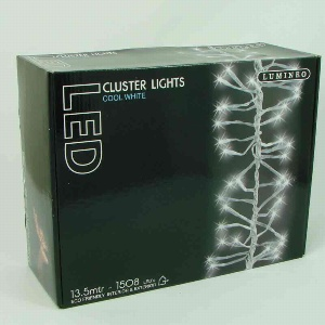 LED CLUSTER LICHTERKETTE