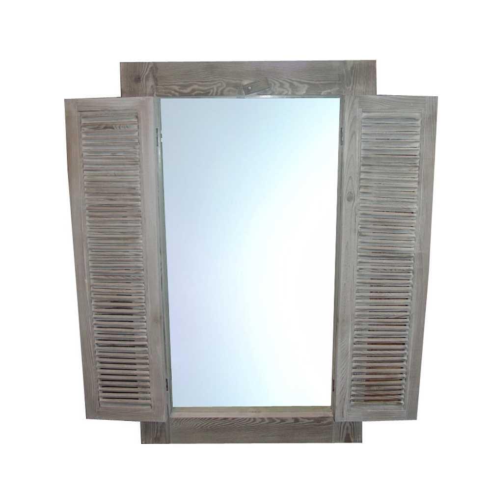 holz spiegel m013a ohne ablage h80cm old pine. Black Bedroom Furniture Sets. Home Design Ideas