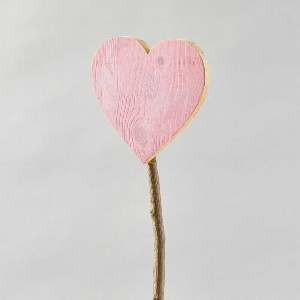 HOLZ HERZ A.STAB L56CM PINK